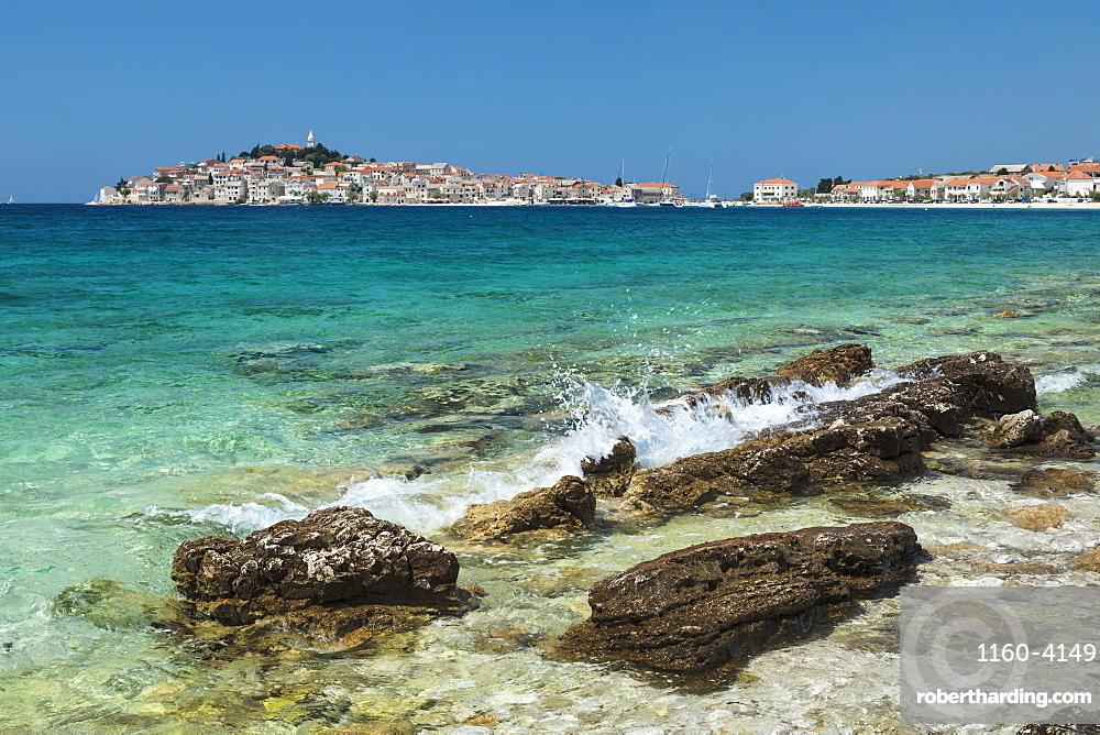 Primosten, Adriatic Coast, Dalmatia, Croatia, Europe