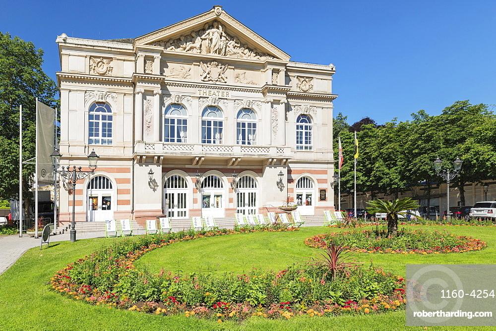 Theatre, Baden-Baden, Black Forest, Baden-Wuerttemberg, Germany