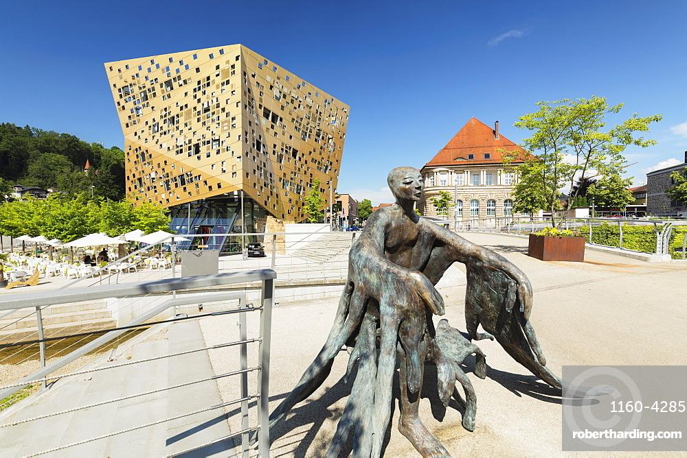 Gold und Silber event location, Schwaebisch-Gmuend, Baden-Wuerttemberg, Germany