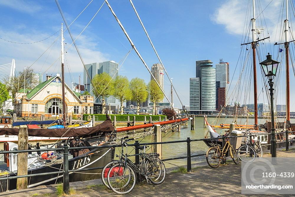 Veerhaven Port, Rotterdam, South Holland, Netherlands, Europe