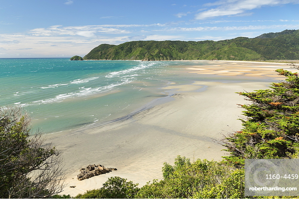 Wainui Bay, Golden Bay, Tasman, South Island, New Zealand, Pacific