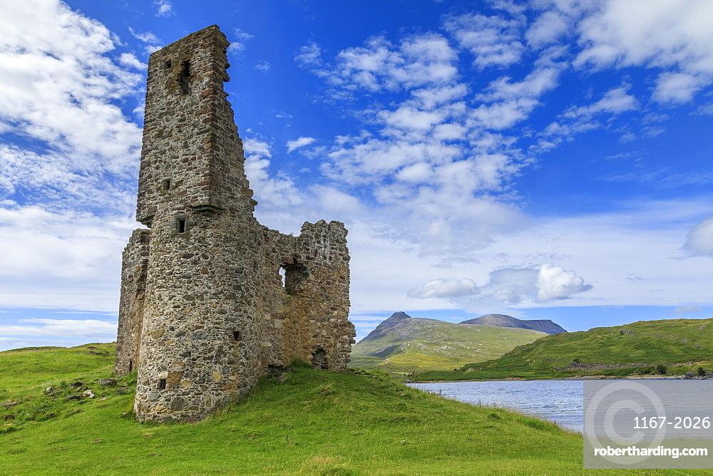Ardvreck Castle in Scotland, Europe