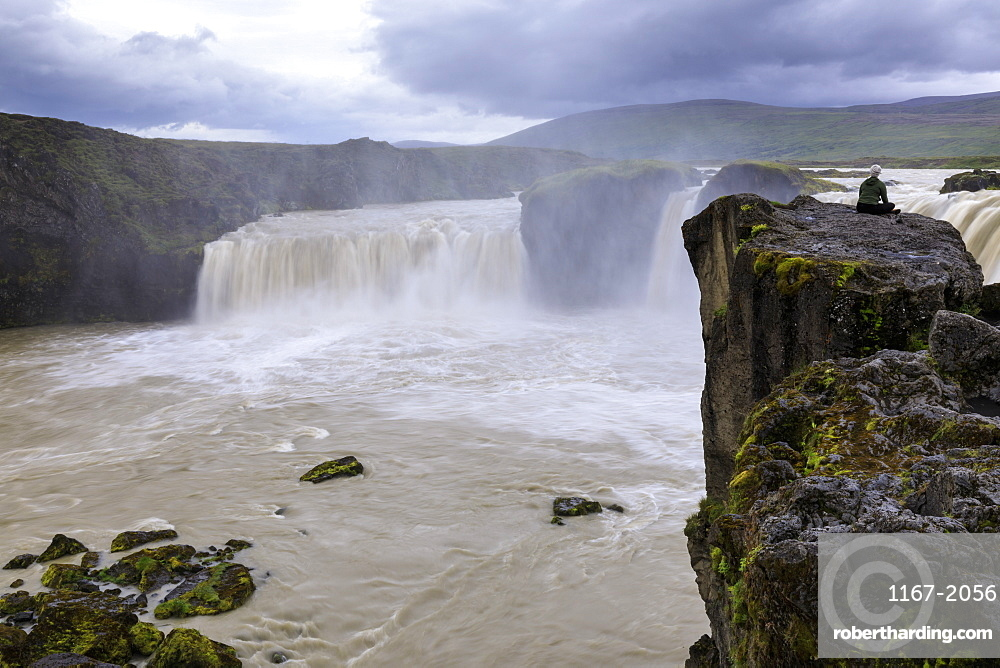 Godafoss waterfall in Iceland, Europe