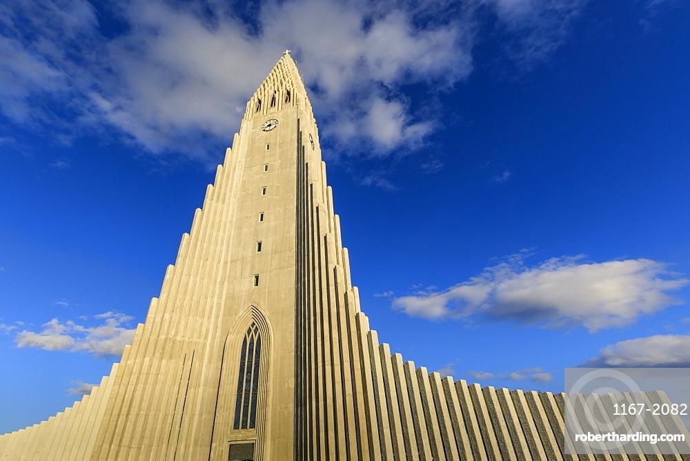 Hallgrimskirkja church in Reykjavik, Iceland, Europe