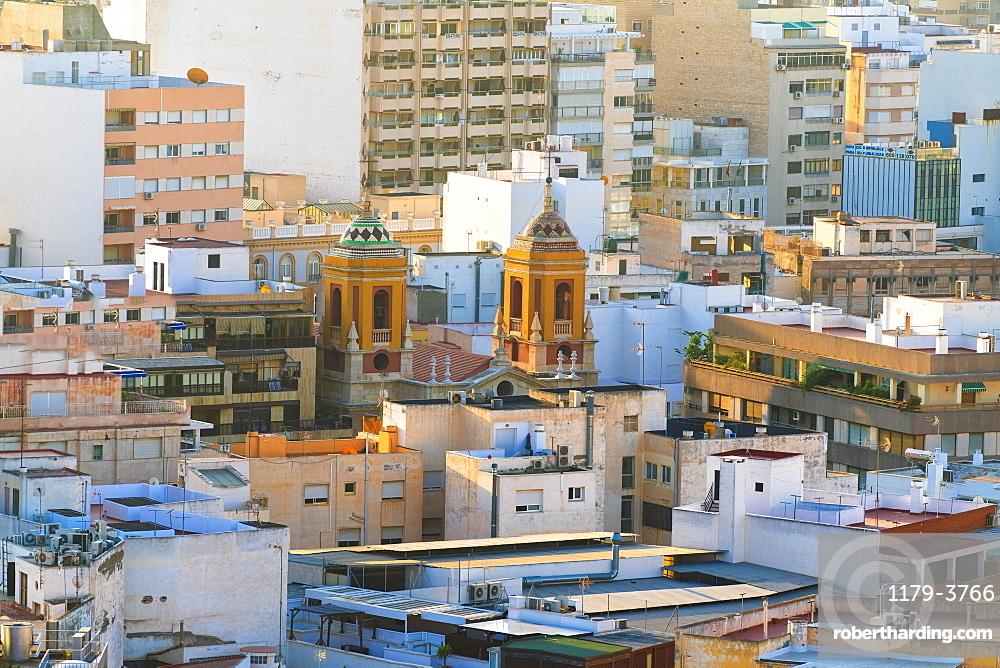 Cityscape of Almeria, Spain, Europe