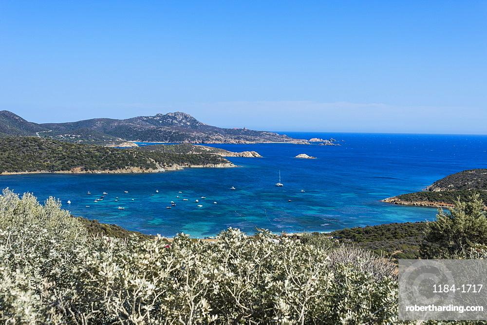 Beautiful bays in the Costa del Sud, Sardinia, Italy, Mediterranean, Europe