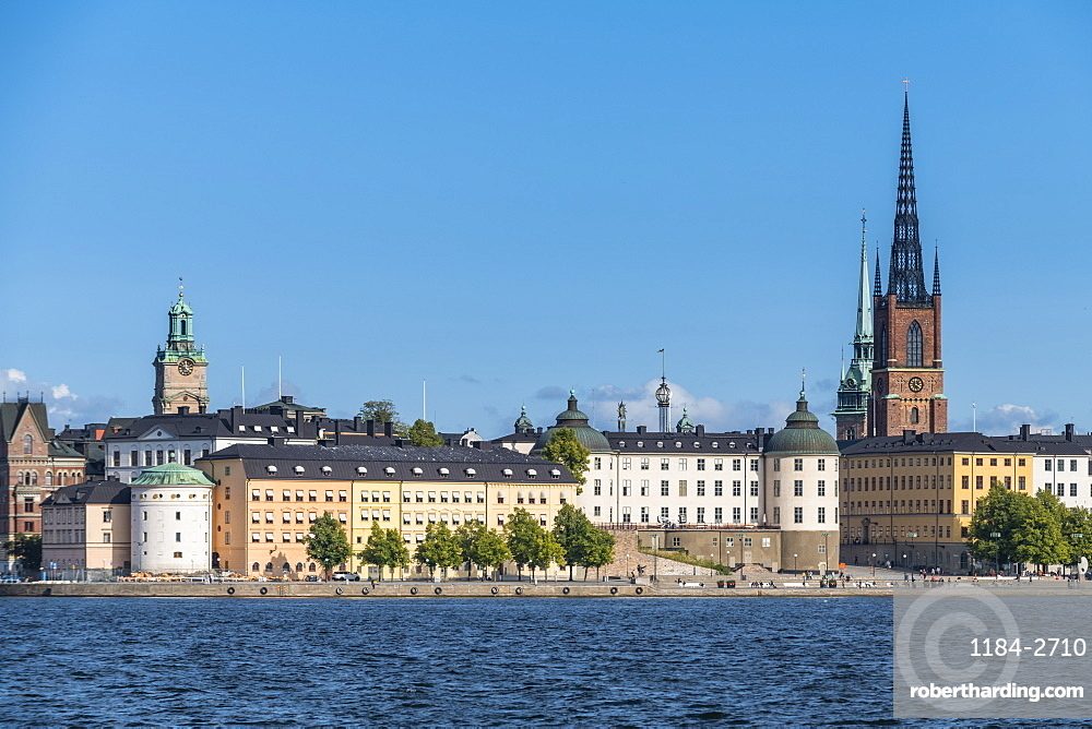 View over the old town Gamla Stan, Stockholm, Sweden, Scandinavia, Europe