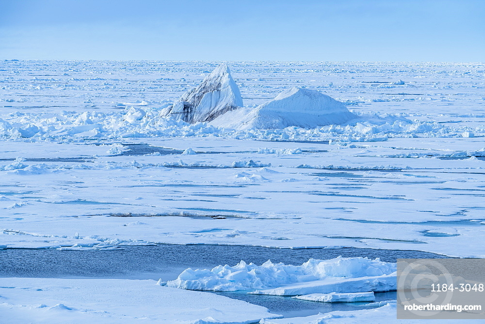 Ice bergs at North Pole, Arctic