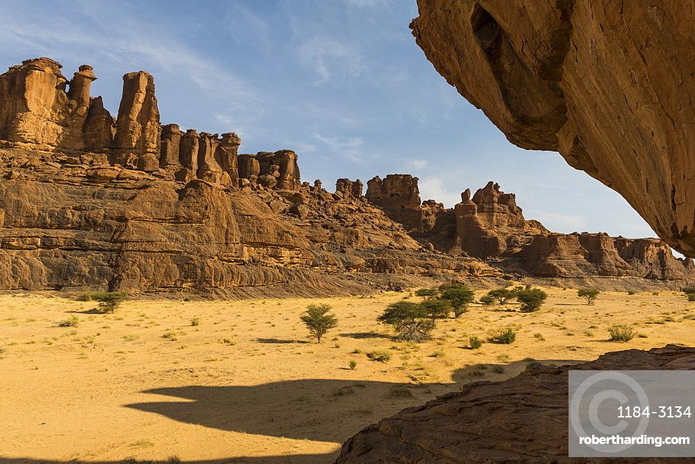 Beautiful rock formations, Ennedi Plateau, UNESCO World Heritage Site, Ennedi region, Chad, Africa