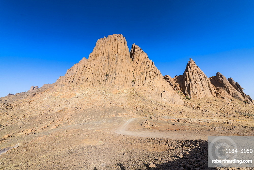 Mountains of Assekrem, Tamanrasset, Hoggar mountains, Algeria, North Africa, Africa