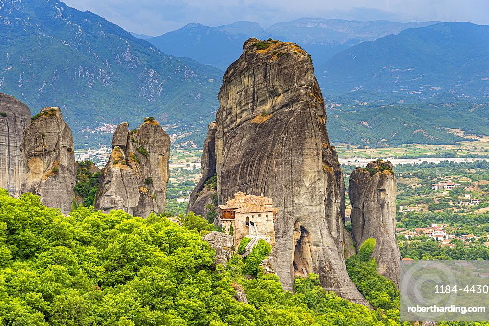 Holy Monastery of Rousanou, Unesco world heritage site Meteora monateries, Greece