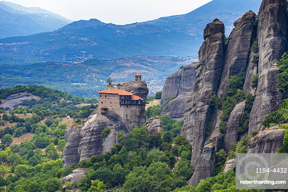 Holy Monastery of St. Nicholas Anapafsas, Unesco world heritage site Meteora monateries, Greece
