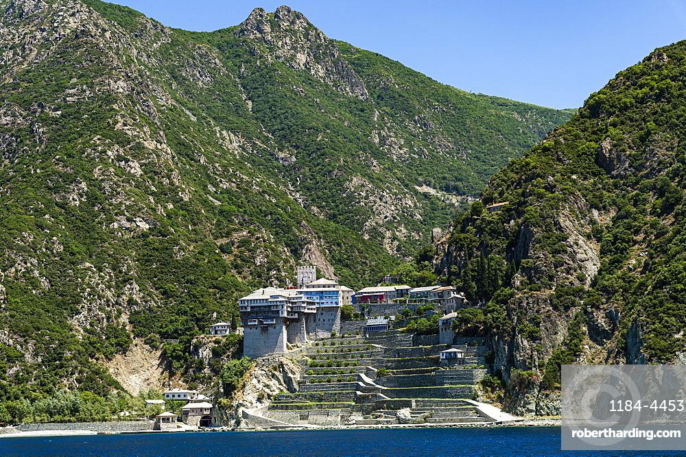 Agiou Pavlou monastery, Unesco world heritage site Mount Athos, Greece