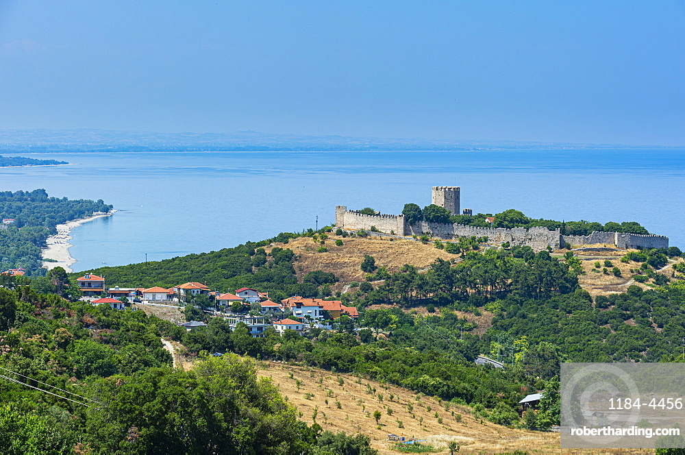Platamon Castle at the foot of Mount Olympus, Greece, Europe
