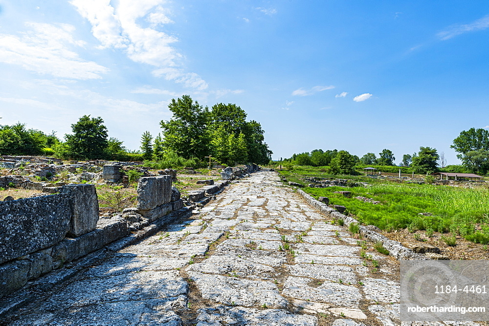 Archaeological Park of Dion, Mount Olympus, Greece