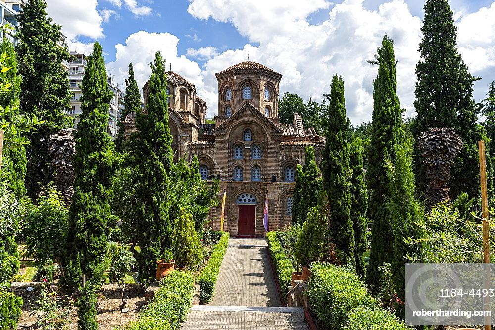Panagia Chalkeon church, Unesco world heritage site Thessaloniki, Greece
