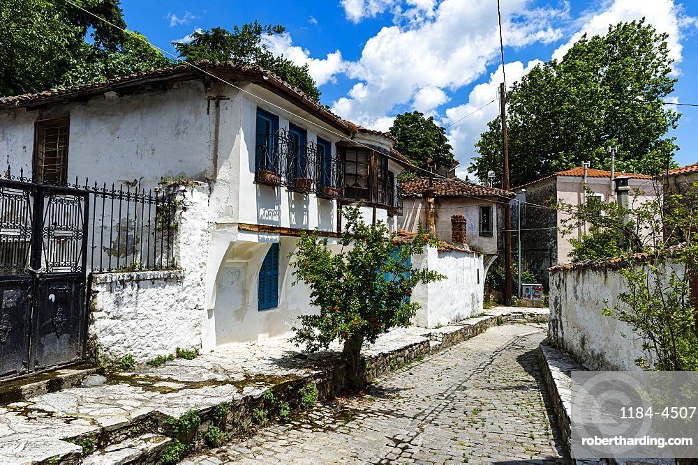 Old ottoman houses, Xanthi, Thrace, Greece