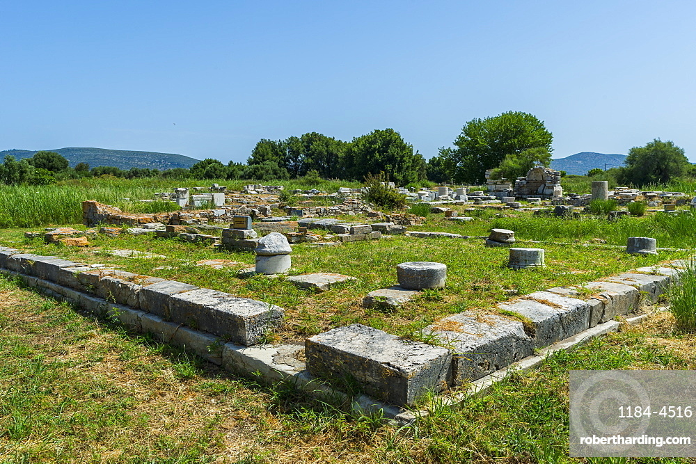 Unesco world heritage site, Heraoin of Samos, Greece