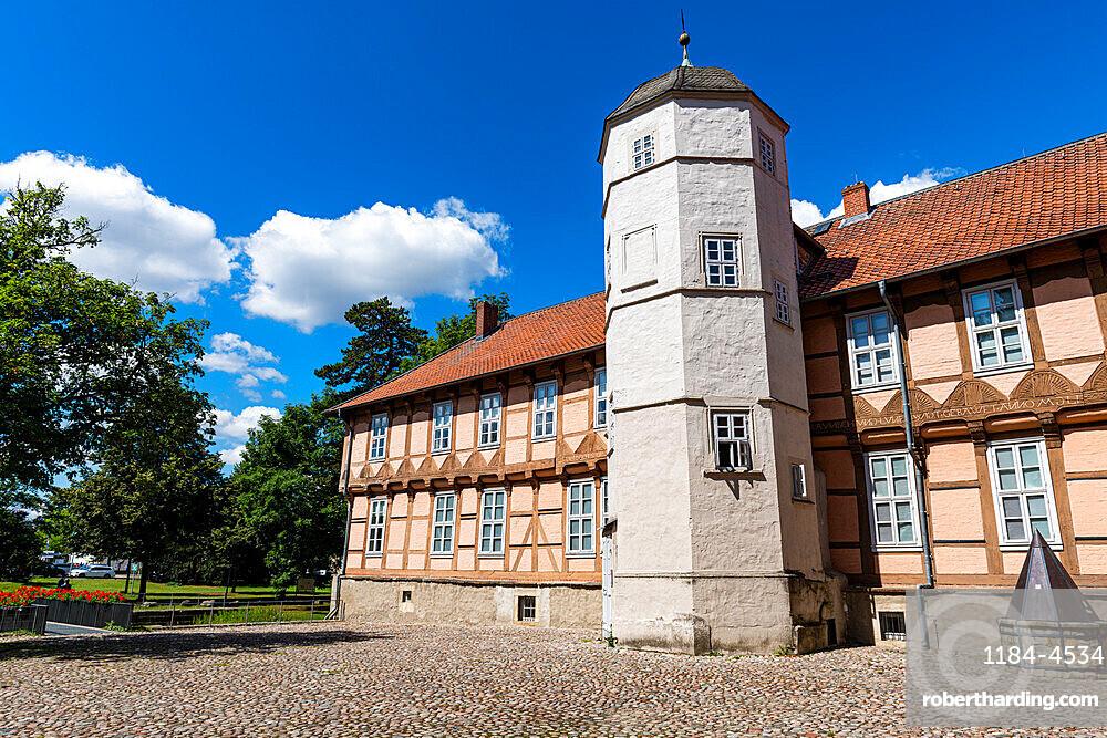 Castle Fallersleben, Wolfsburg, Lower Saxony, Germany, Europe
