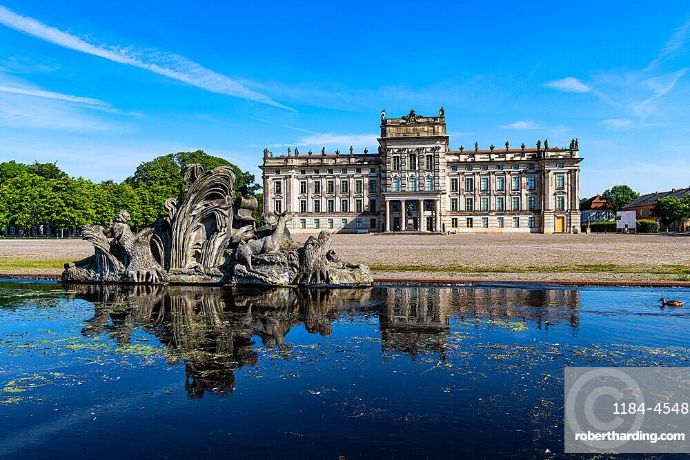 Ludwigslust Palace, Ludwigslust, Mecklenburg-Vorpommern, Germany, Europe
