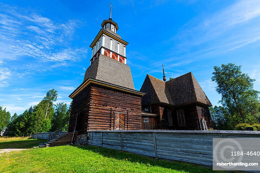 Old Wooden Church, Petaejeveden (Petajavesi), UNESCO World Heritage Site, Petajavesi, Finland, Europe