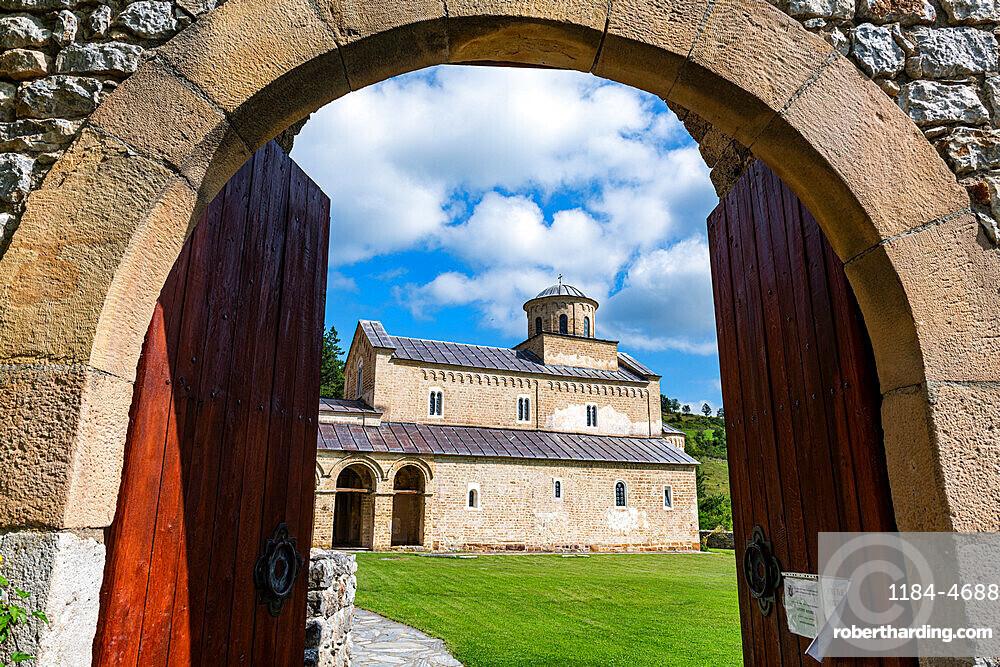 Sopocani Monastery, UNESCO World Heritage Site, Novi Pazar, Serbia, Europe