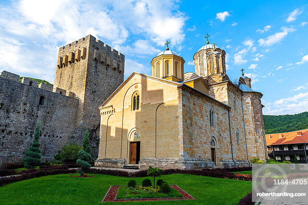 Fortified Manasija Monastery, Serbia, Europe
