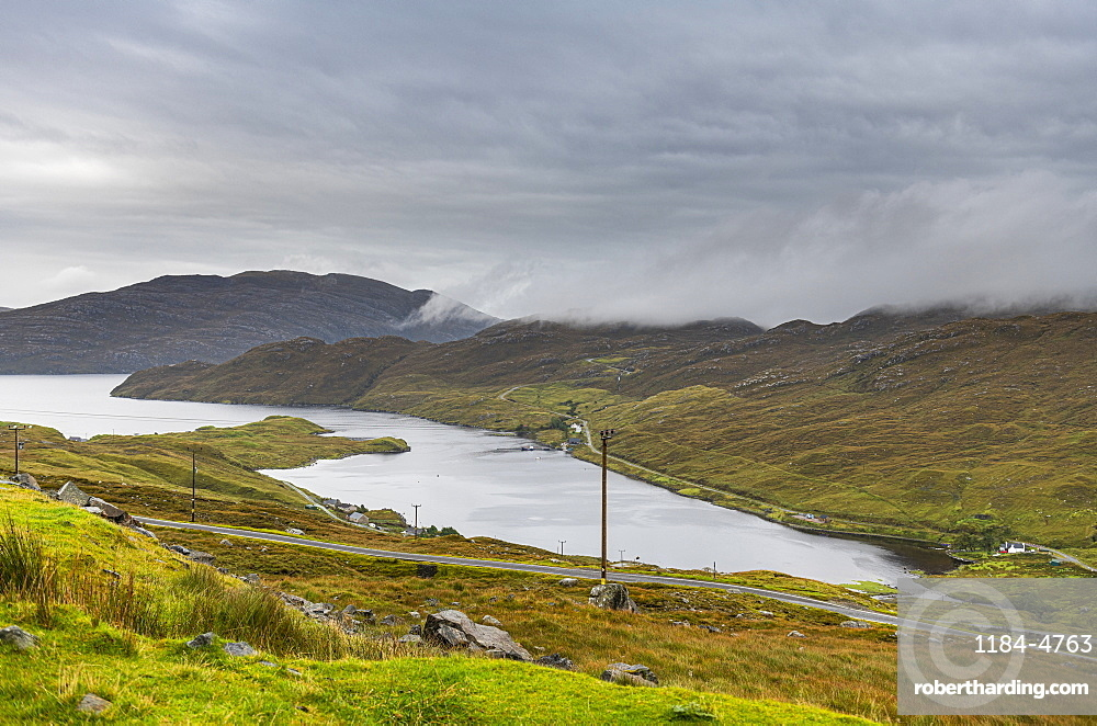 Loch Shiphoirt (Loch Seaforth), Isle of Harris, Outer Hebrides, Scotland, United Kingdom, Europe