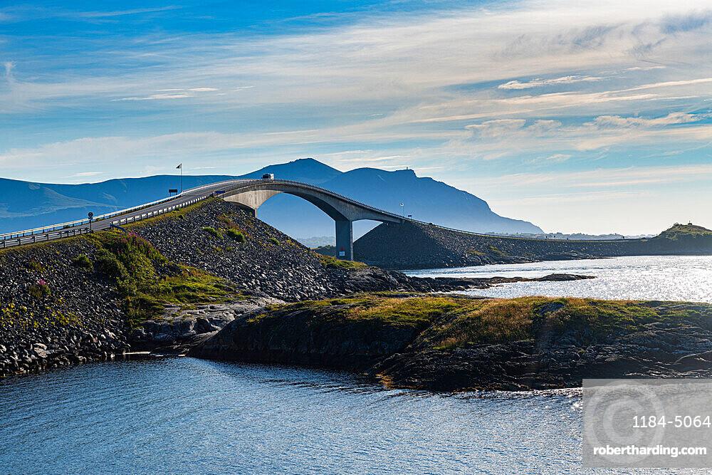 Bridge on the Atlantic Ocean Road, More og Romsdal county, Norway