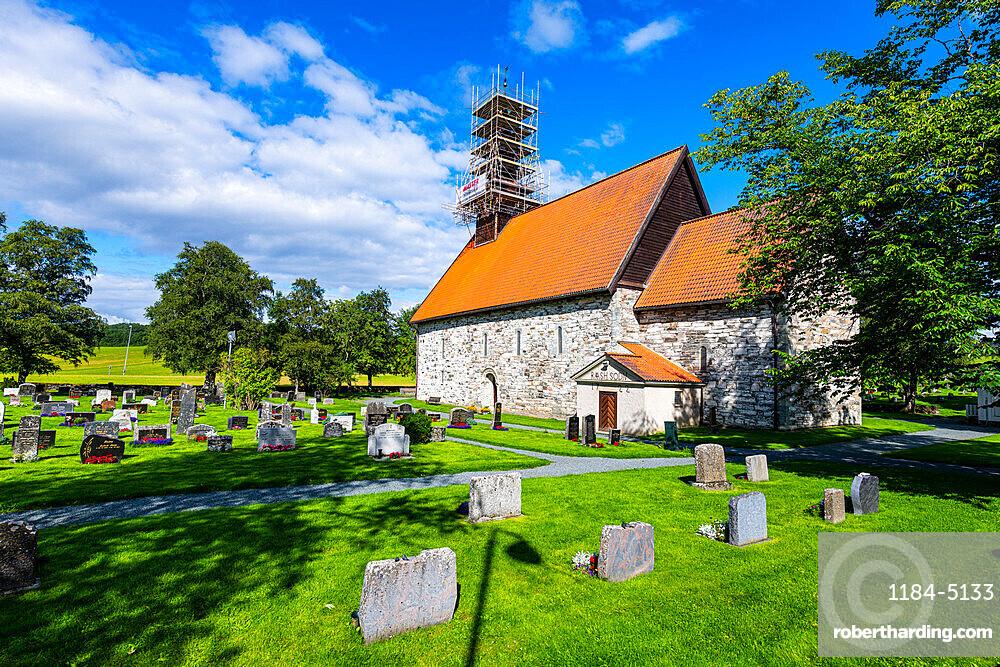 Stiklestad church, Stiklestad, Norway