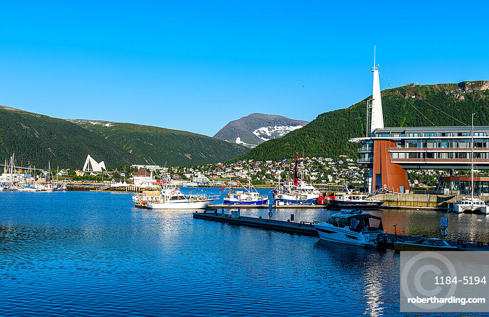 Harbour of Tromso, Norway