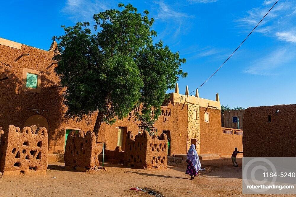 Historic center in the Unesco world heritage site Agadez, Niger