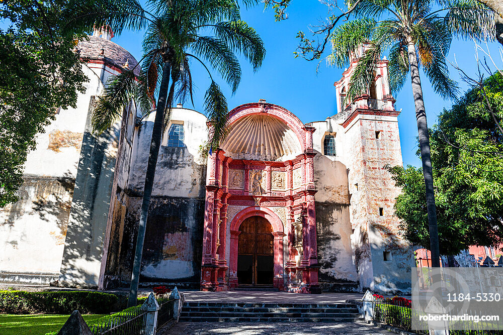 Cathedral of Cuernavaca, UNESCO World Heritage Site, Earliest 16th century Monasteries on the slopes of Popocatepetl, Mexico, North America