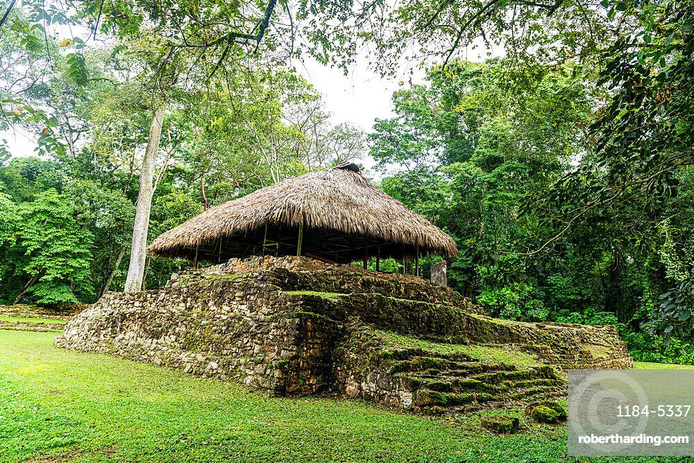 Ancient Maya archaeological site of Bonampak, Chiapas, Mexico, North America