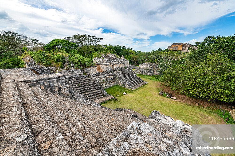 Yucatec-Maya archaeological site, Ek Balam, Yucatan, Mexico, North America