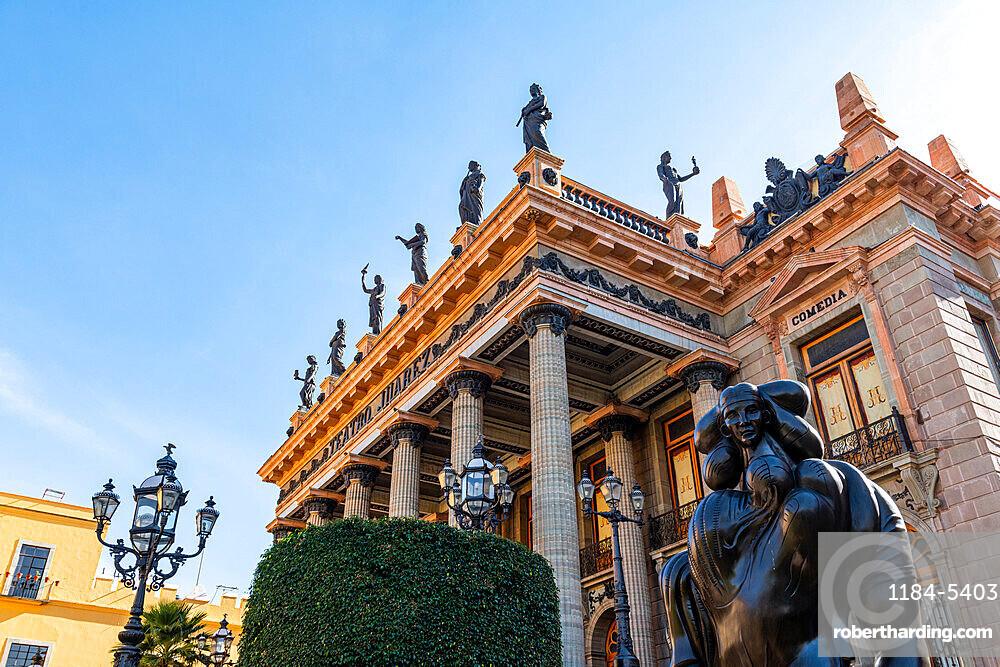 Teatro Juarez, UNESCO World Heritage Site, Guanajuato, Mexico, North America