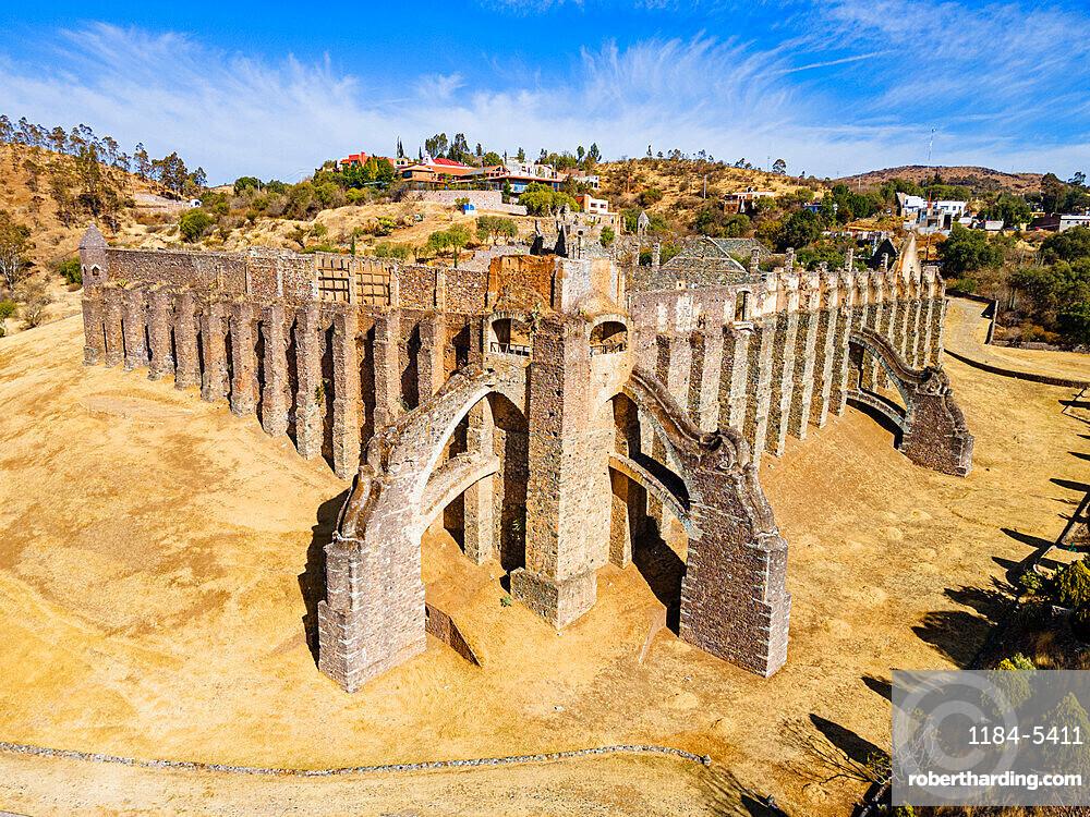 Ruins of the Hacienda of Guadalupe, Unesco site Guanajuato, Mexico