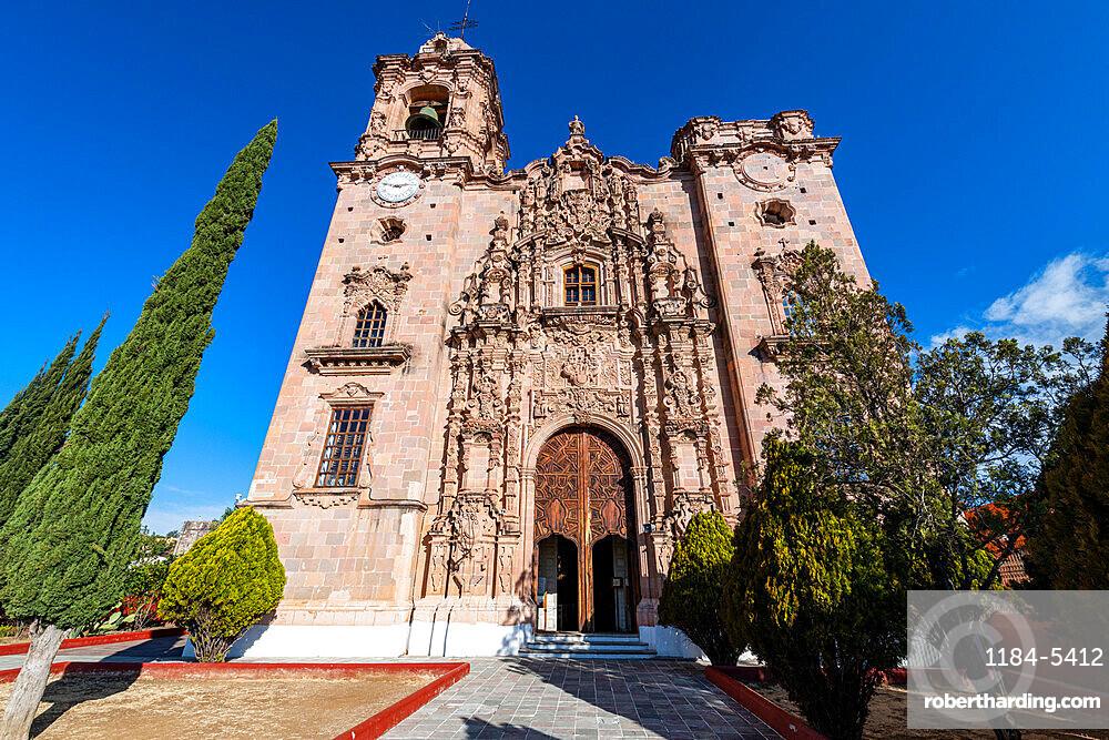 Templo De La Valenciana, Unesco site Guanajuato, Mexico