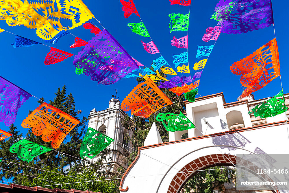 Church of San Pedro, San Pablo Villa de Mitla, Oaxaca, Mexico, North America