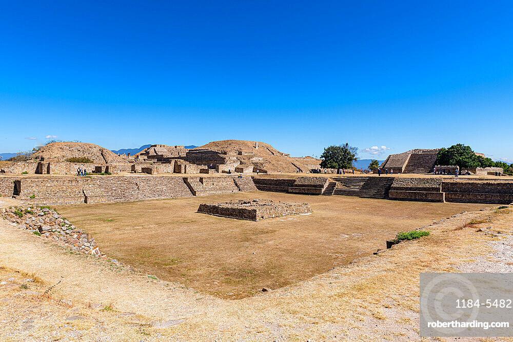 Monte Alban, UNESCO World Heritage Site, Oaxaca, Mexico, North America