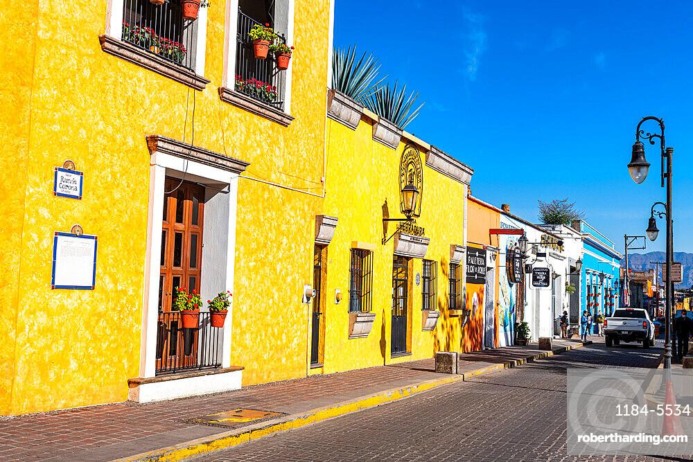 Historic buildings, UNESCO World Heritage Site, Tequila, Jalisco, Mexico,  North America