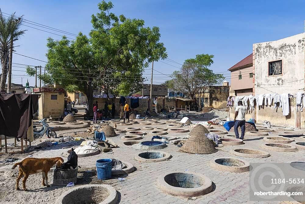 Dyeing pits, Kano, Kano state, Nigeria