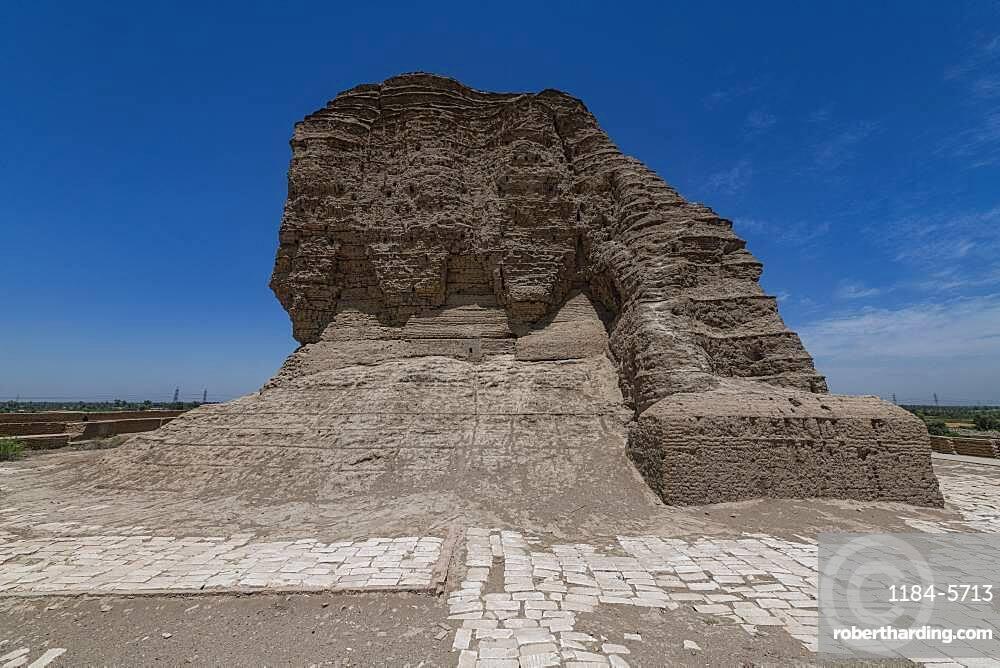 Ziggurat of Dur-Kurigalzu, Iraq, Middle East