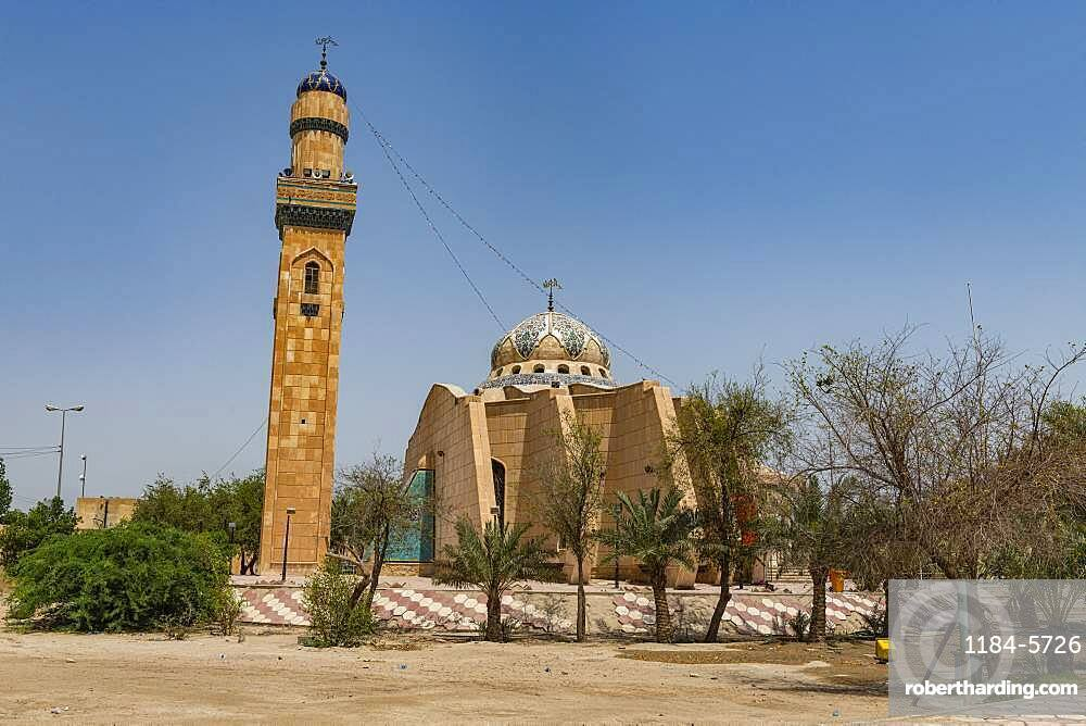 Imam Ali Mosque, one of the oldest mosques in the world, Basra, Iraq
