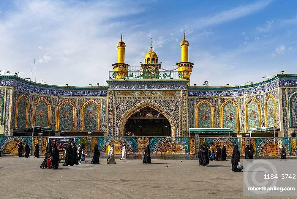 Imam Hussein Holy Shrine, Kerbala, Iraq, Middle East