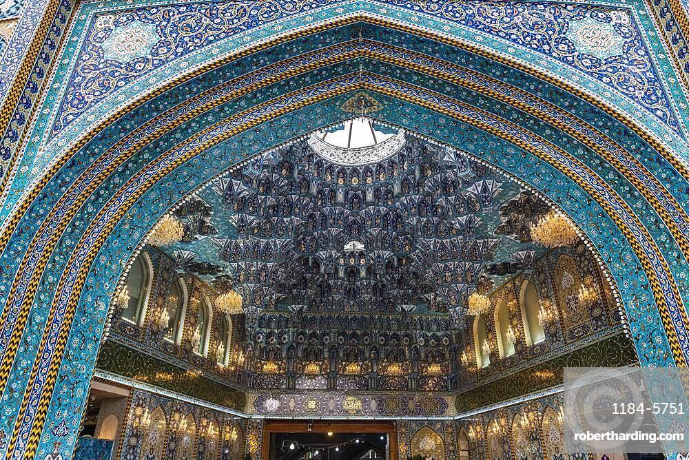 Beautiful art work, Al-Abbas Holy Shrine, Kerbala, Iraq