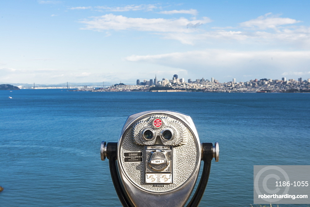 View over the Bay, San Francisco, California, United States of America, North America