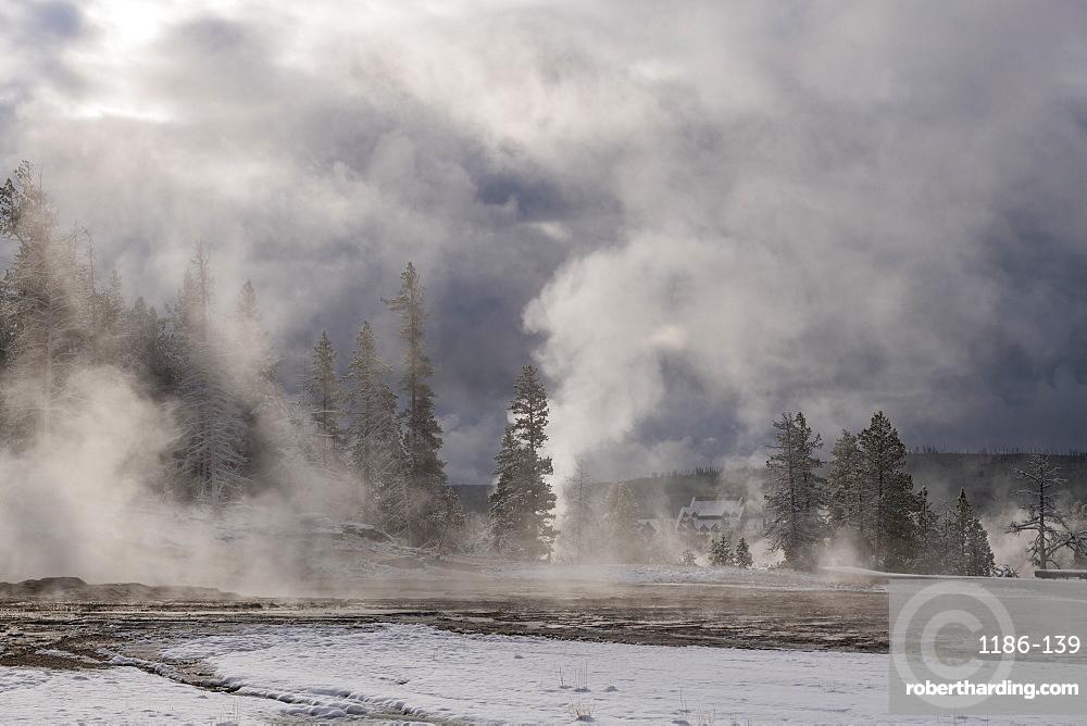 Yellowstone National Park, UNESCO World Heritage Site, Wyoming, United States of America, North America