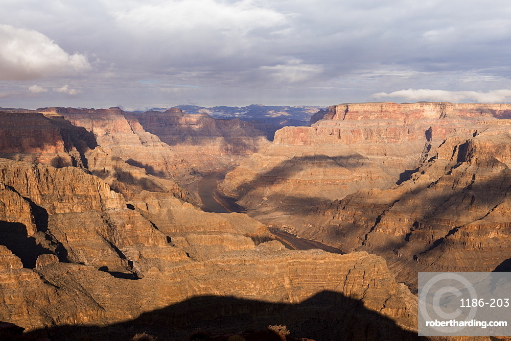 West Rim, Grand Canyon and Colorado River, UNESCO World Heritage Site, Arizona, United States of America, North America