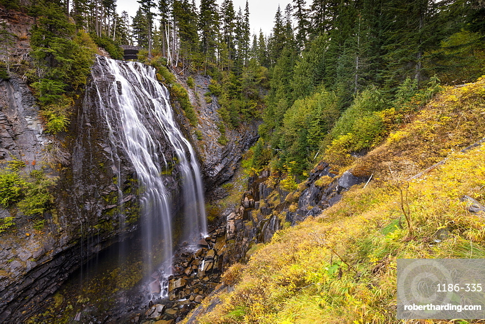 Narada Falls, Mount Rainier National Park, Washington State, United States of America, North America